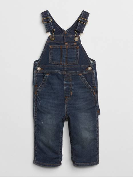 Denim Overalls in Supersoft