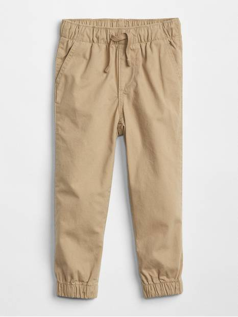 Toddler Pull-On Canvas Joggers