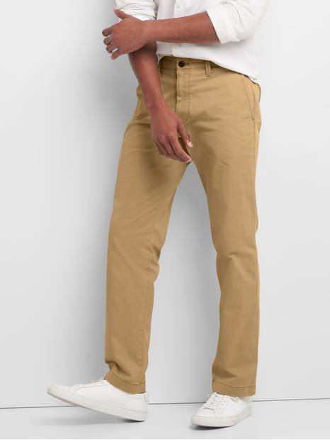 Vintage Khakis in Straight Fit with GapFlex