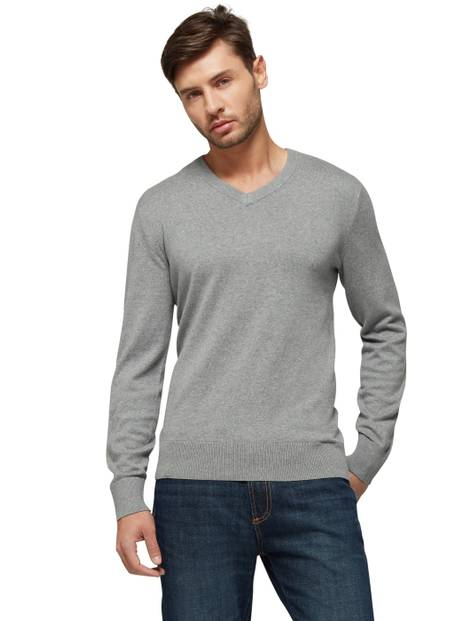 V-Neck Long Sleeve Sweatshirt