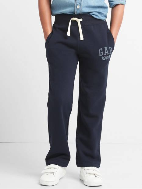 Kids Gap Logo Pants in Fleece