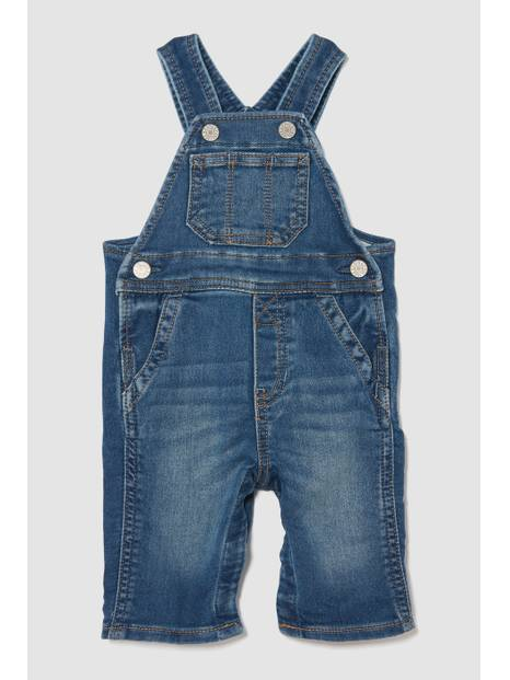 Baby Jersey-Lined Overalls