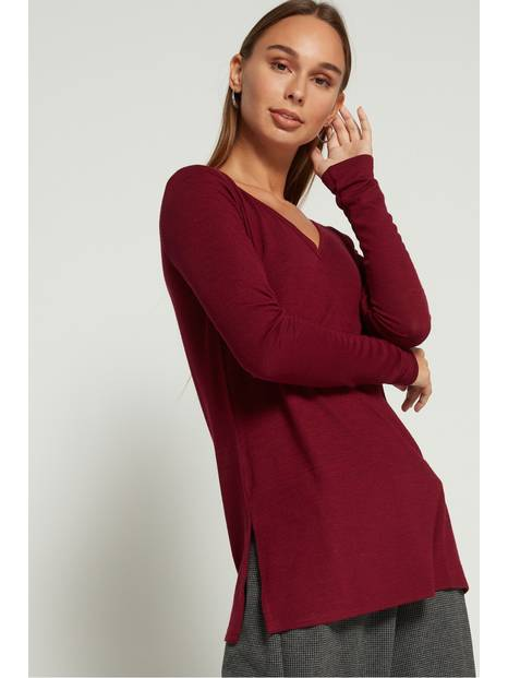 Softspun V-Neck Long-Sleeve Top