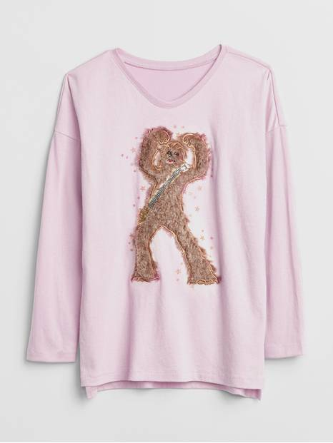 GapKids &#124 Star Wars&#153 Graphic Long Sleeve T-Shirt
