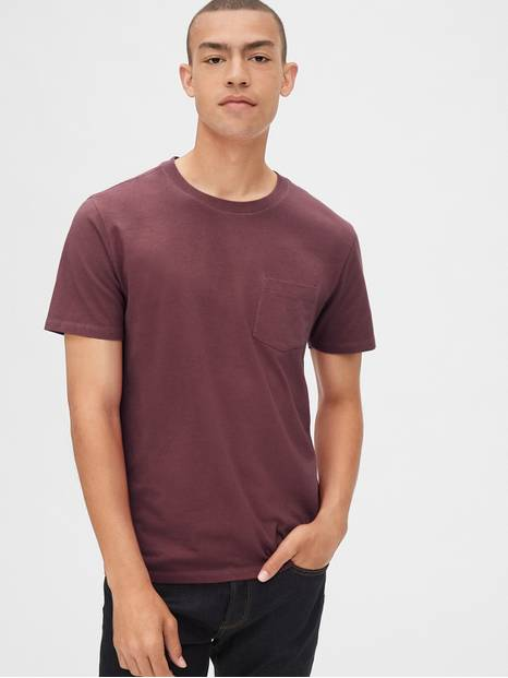 Gap 50th Anniversary Vintage Wash Pocket T-Shirt