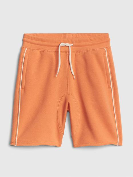 Toddler Piping Pull-On Shorts In French Terry