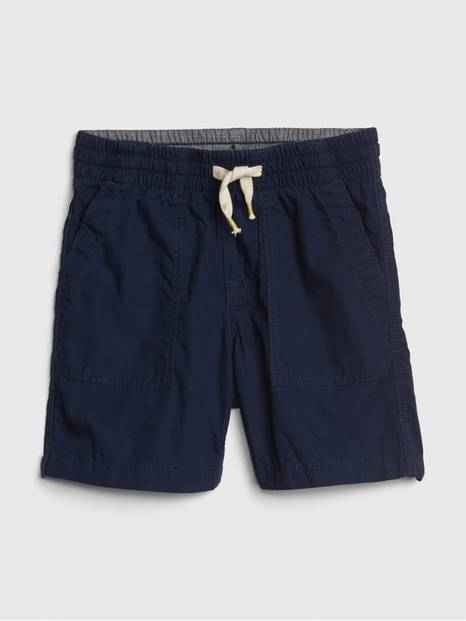 Toddler Pull-On Utility Shorts In Twill