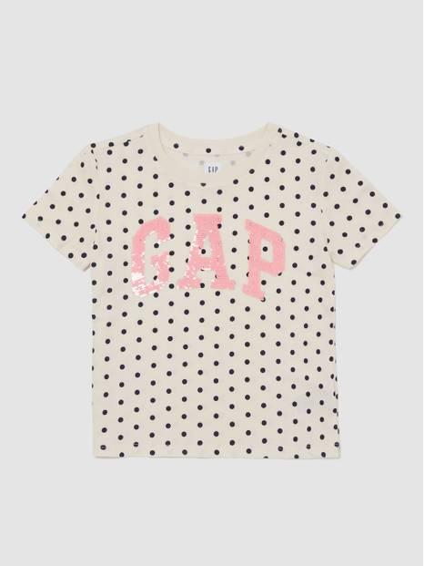 Flippy Sequin Logo T-Shirt