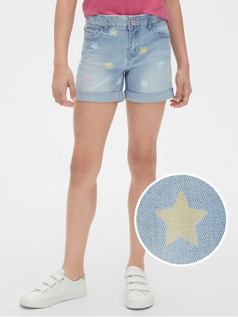 Kids Star Midi Shorts with Fantastiflex