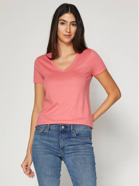 Favorite V-Neck Short Sleeve T-Shirt