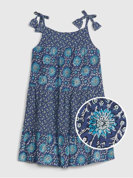 Toddler Mix-Print Tank Dress