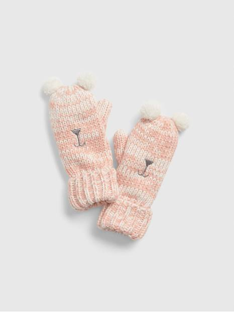 Kids Bear Mittens