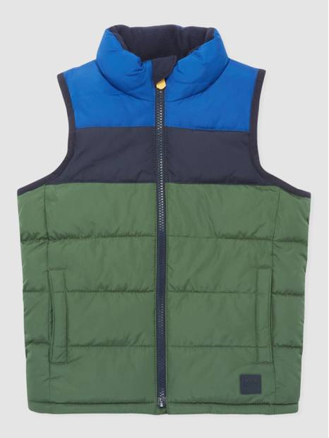 Kids Colorblocked Vest