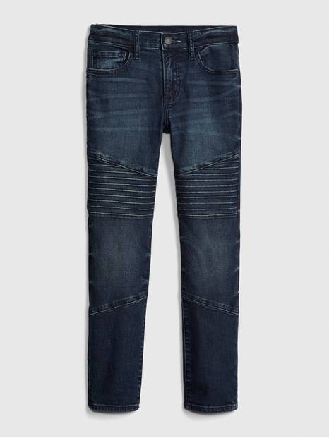Kids Moto Skinny Jeans with Fantastiflex