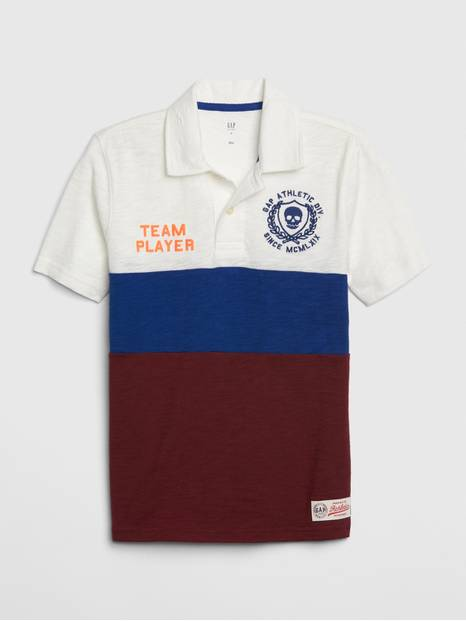 Kids Graphic Polo Shirt