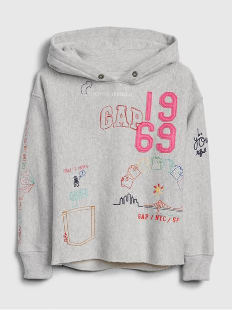 Kids Gap 50th Hoodie Sweatshirt