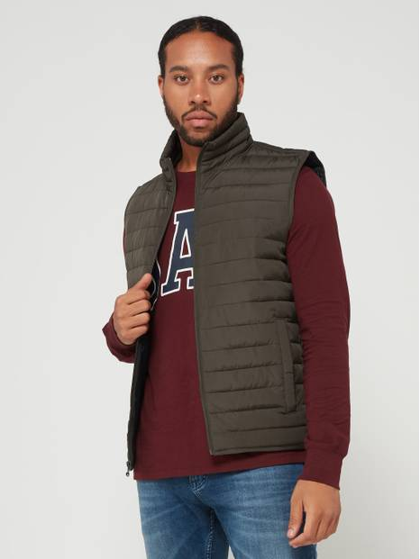 Quilted Lightweight Puffer Vest