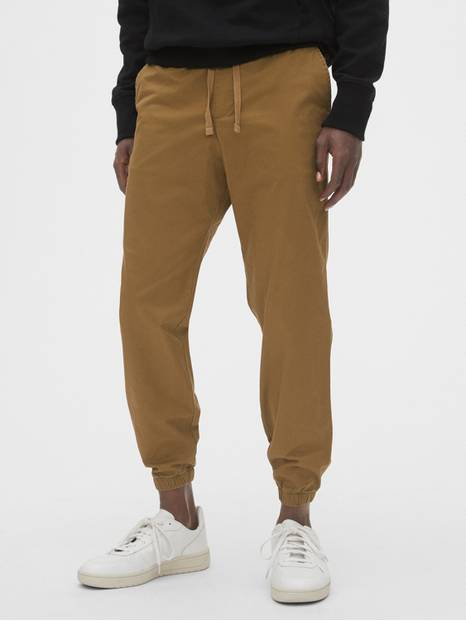 Slim Canvas Joggers with Gapflex
