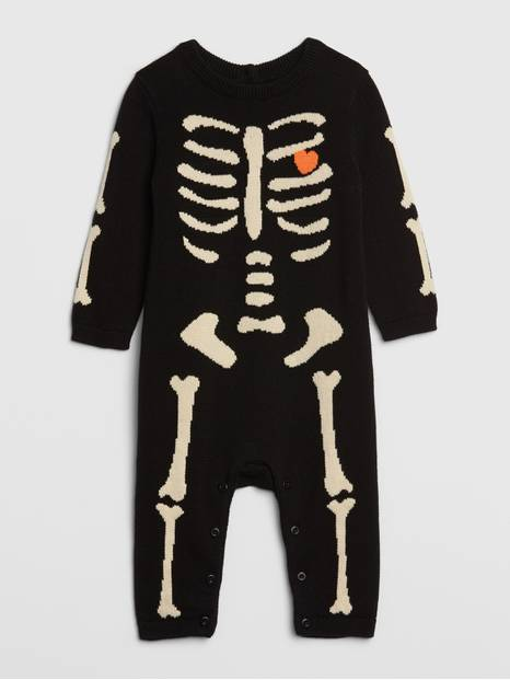 Baby Skeleton One-Piece
