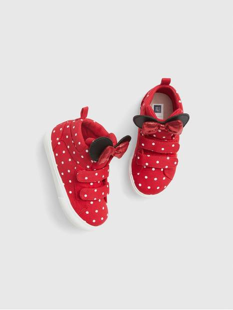 babyGap &#124 Disney Minnie Mouse Hi-Top Sneakers