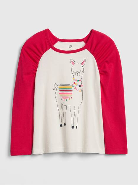 Toddler Graphic Puff-Sleeve T-Shirt