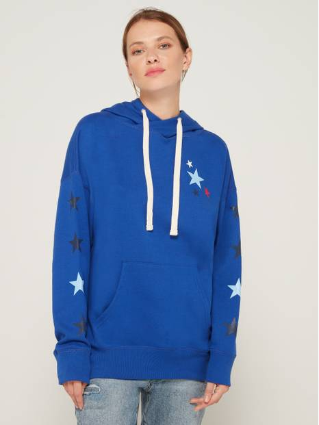 Hooded Star Graphic Tunic