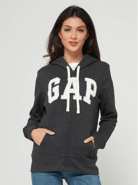 Arch Logo  Sherpa-Lined Hooded Sweatshirt