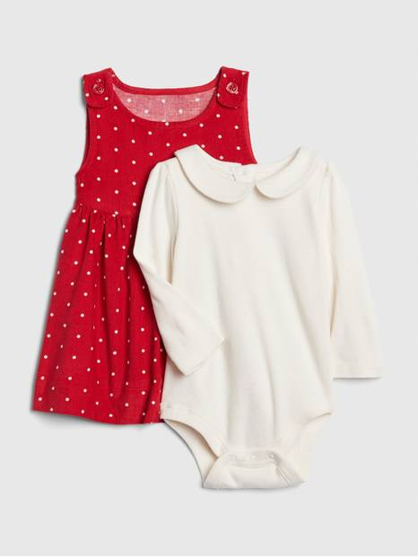 Baby Jumper Bodysuit Set