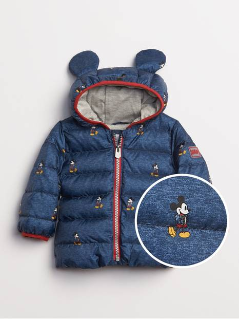 babyGap &#124 Disney Mickey Mouse ColdControl Ultra Max Down Puffer