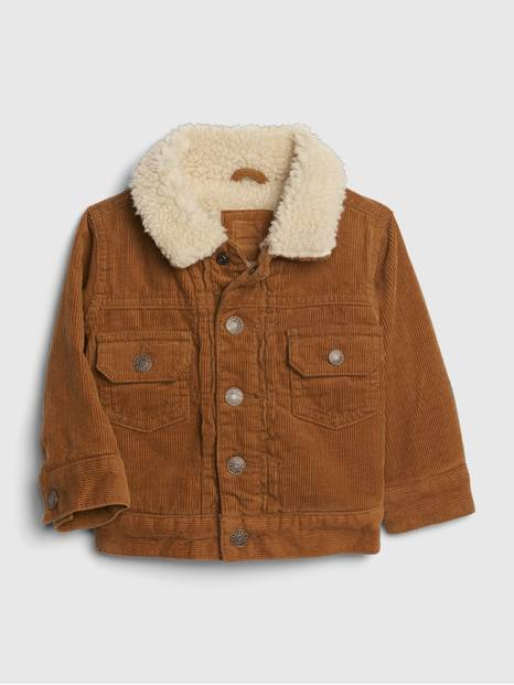 Baby Icon Cord Sherpa Jacket