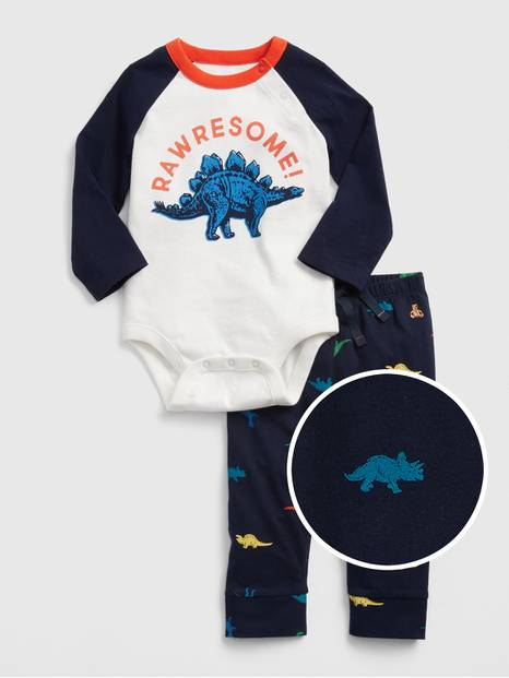Baby Brannan Bear Bodysuit Set