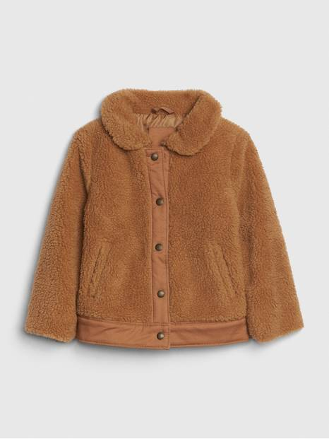 Toddler Sherpa Bomber Jacket