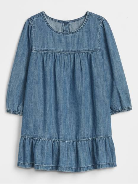 Toddler Easy Denim Dress