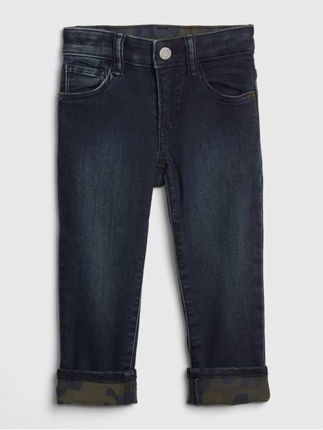 Toddler Straight Jeans with Fantastiflex