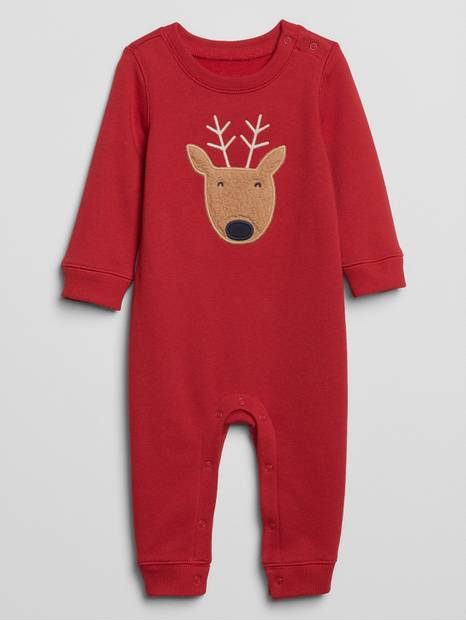 Baby Graphic Fleece One-Piece