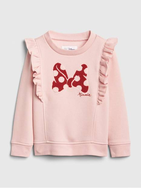 babyGap &#124 Disney Minnie Mouse Ruffle Sweatshirt