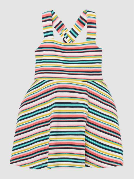 Toddler Dot Fit and Flare Dress
