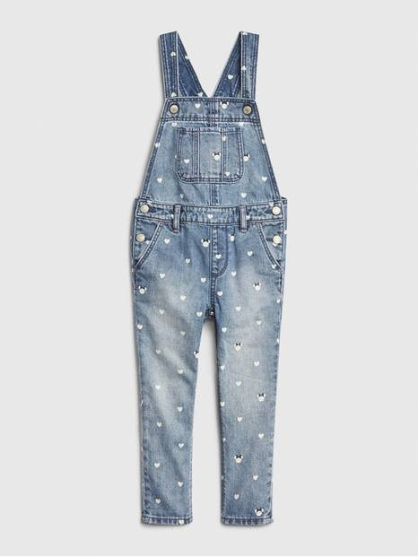 babyGap &#124 Disney Minnie Mouse Denim Overalls