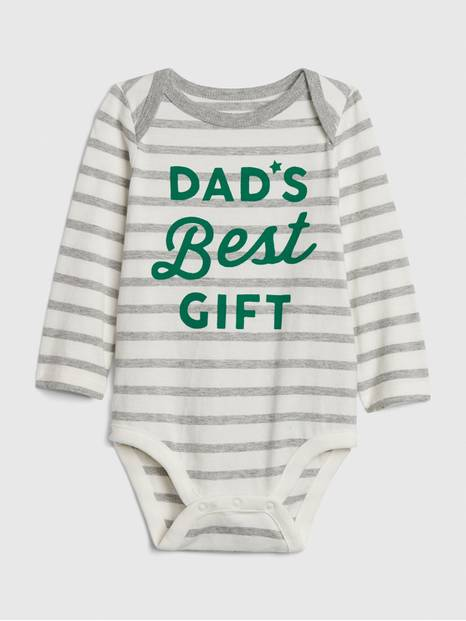 Baby Graphic Stripe Bodysuit