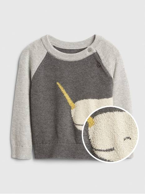 Baby Narwhal Sweater