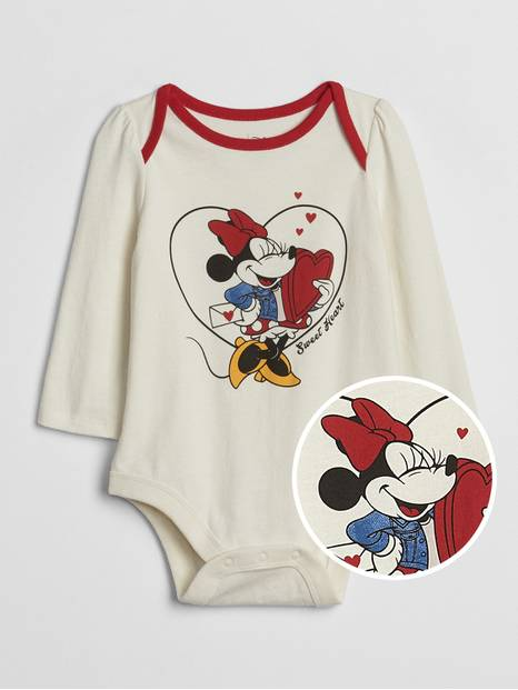 babyGap &#124 Disney Minnie Mouse Bodysuit