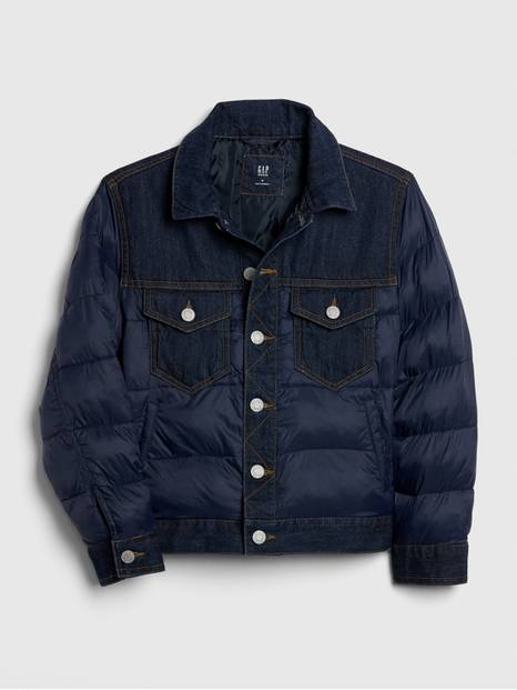 Kids ColdControl Max Denim Puffer Jacket