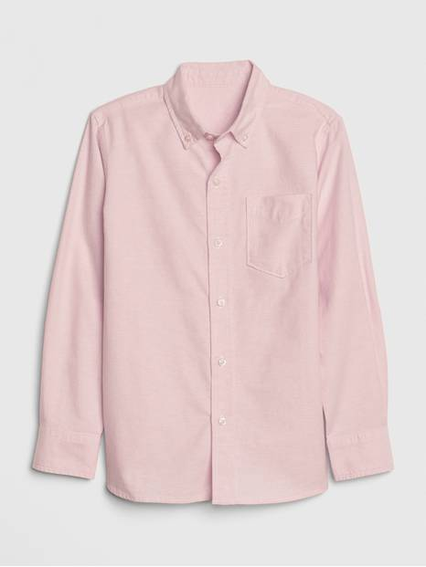 Kids Oxford Button-Down Shirt