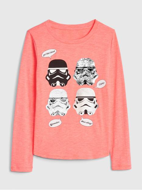 GapKids &#124 Star Wars&#153 Flippy Sequin T-Shirt