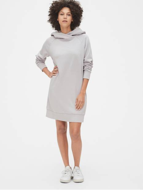 Supersoft Terry Raglan Hoodie Dress