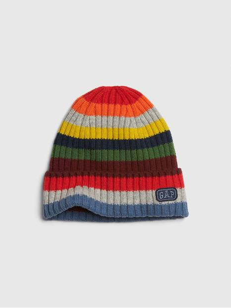 Kids Crazy Stripe Beanie