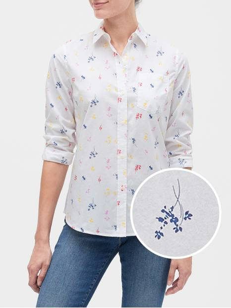 Print Long Sleeve Shirt
