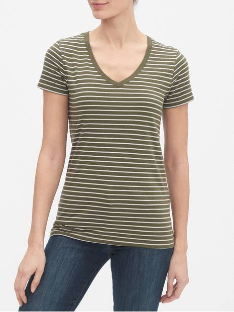 Favorite Stripe Short Sleeve T-Shirt