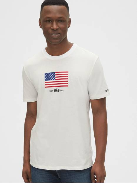 Gap Logo Flag T-Shirt