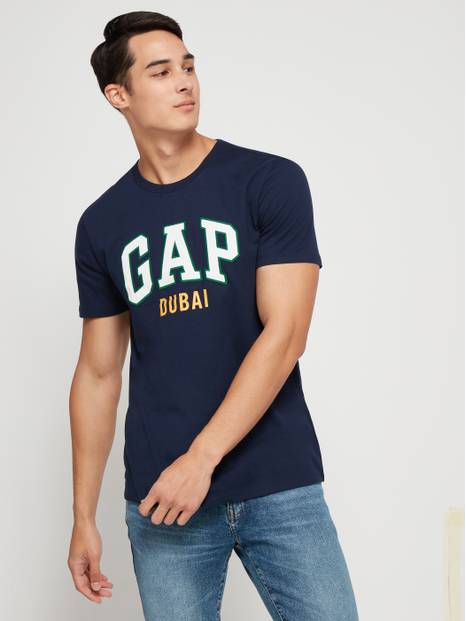 Embroidered Arch Logo Dubai T-Shirt